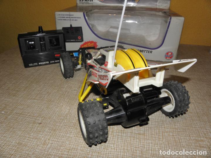 Radio Control: VINTAGE 80s RADIO REMOTE CONTROL ROD SPARK OFF-ROAD BUGGY CAR NEW IN BOX -NO FUNCIONA- TR 832 PRESTO - Foto 6 - 162970400