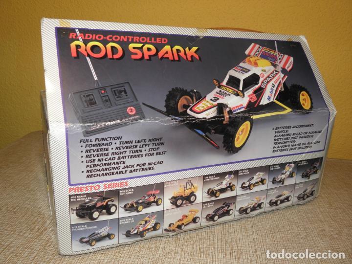 Radio Control: VINTAGE 80s RADIO REMOTE CONTROL ROD SPARK OFF-ROAD BUGGY CAR NEW IN BOX -NO FUNCIONA- TR 832 PRESTO - Foto 18 - 162970400