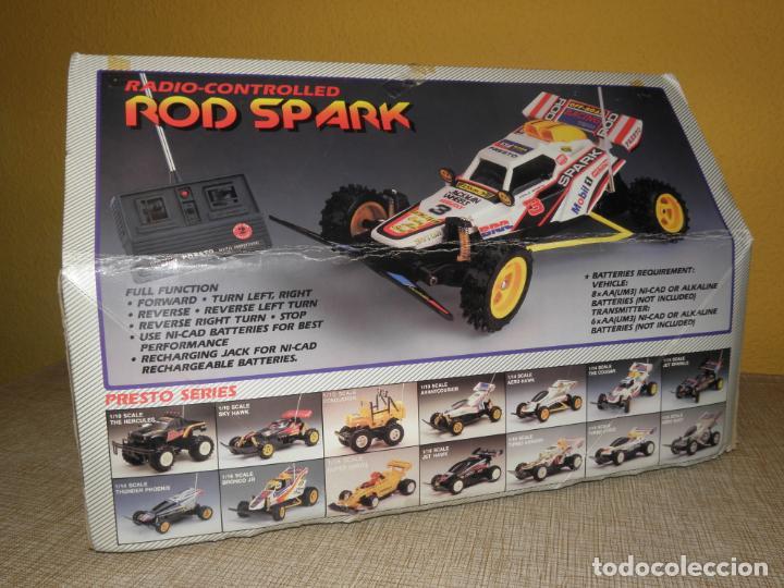 Radio Control: VINTAGE 80s RADIO REMOTE CONTROL ROD SPARK OFF-ROAD BUGGY CAR NEW IN BOX -NO FUNCIONA- TR 832 PRESTO - Foto 19 - 162970400