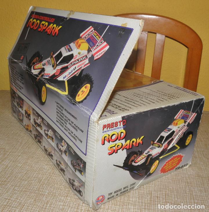 Radio Control: VINTAGE 80s RADIO REMOTE CONTROL ROD SPARK OFF-ROAD BUGGY CAR NEW IN BOX -NO FUNCIONA- TR 832 PRESTO - Foto 21 - 162970400