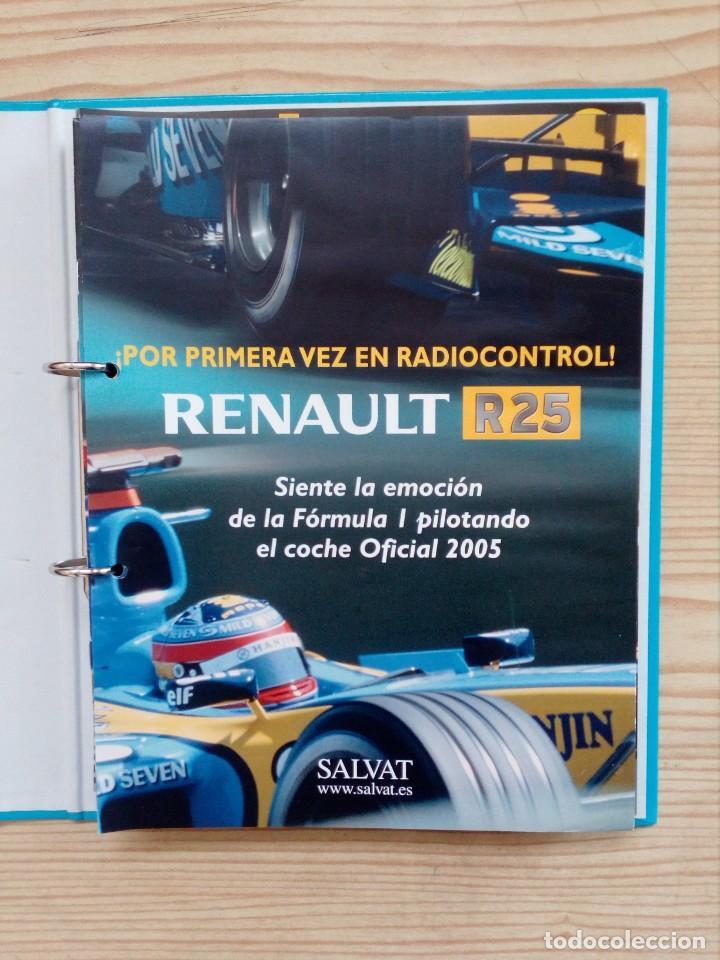 Radio Control: Radiocontrol Formula 1 - Renault - 3 Archivadores Completo - Salvat - Foto 2 - 155011746