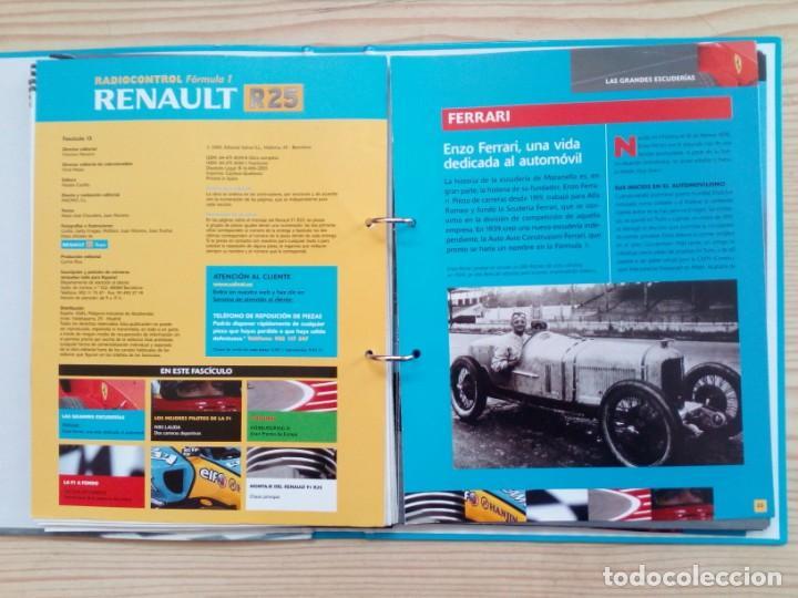 Radio Control: Radiocontrol Formula 1 - Renault - 3 Archivadores Completo - Salvat - Foto 5 - 155011746