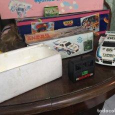 Radio Control: COCHE TELEDIRIGIDO TURBO 935 K3 EASTERN MADE IN TAIWAN BOSCH MICHELIN AÑOS 70 80 ?. Lote 155967264