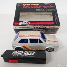 Radio Control: VOLKSWAGEN GOLF GTI RALLYE DE TAIYO VW RADIO CONTROL. Lote 157302128
