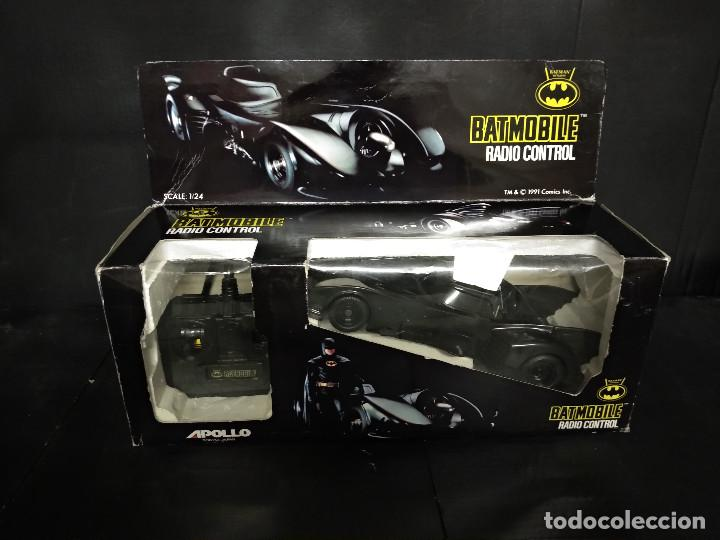 Radio Control: BATMOVIL RADIO CONTROL BATMAN RETURNS 1992 - NUEVO - Foto 1 - 158848334