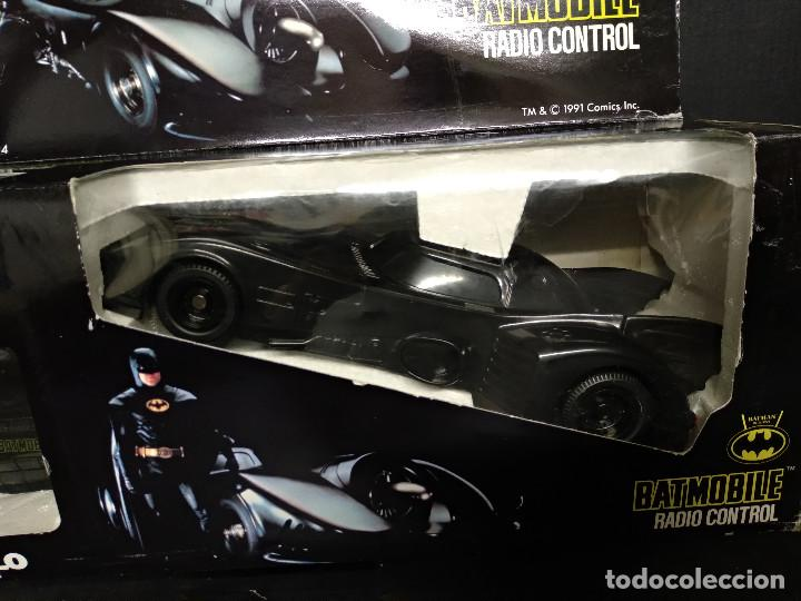 Radio Control: BATMOVIL RADIO CONTROL BATMAN RETURNS 1992 - NUEVO - Foto 2 - 158848334