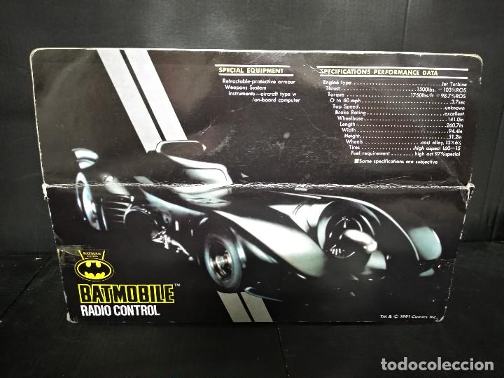 Radio Control: BATMOVIL RADIO CONTROL BATMAN RETURNS 1992 - NUEVO - Foto 4 - 158848334