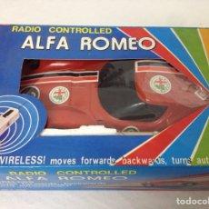 Radio Control: ALFA ROMEO 1600 SCARABLO RADIO CONTROL VINTAGE, MADE IN TAIWÁN.. Lote 159593046
