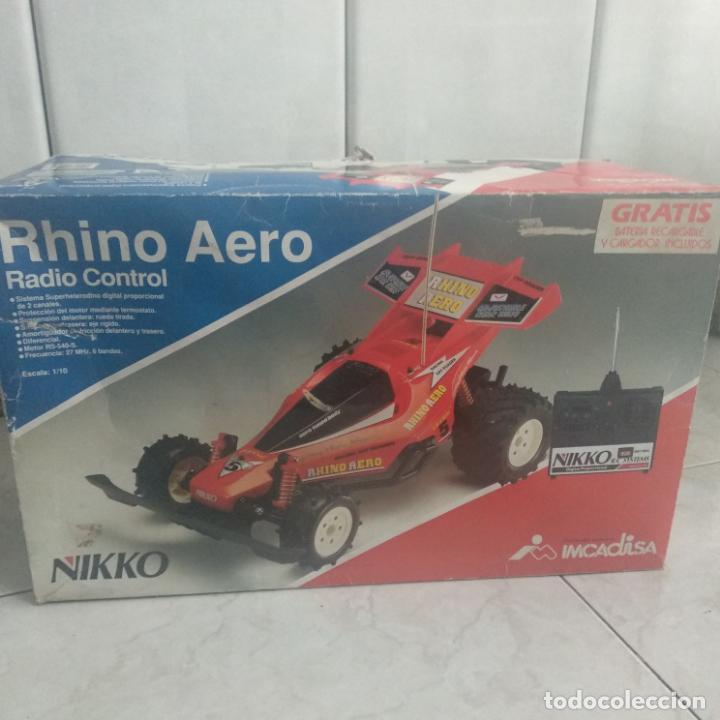 Radio Control: Lote de 4 coches nikko y tonka survivor 2,e-panther,rhino Aero - Foto 16 - 160255742