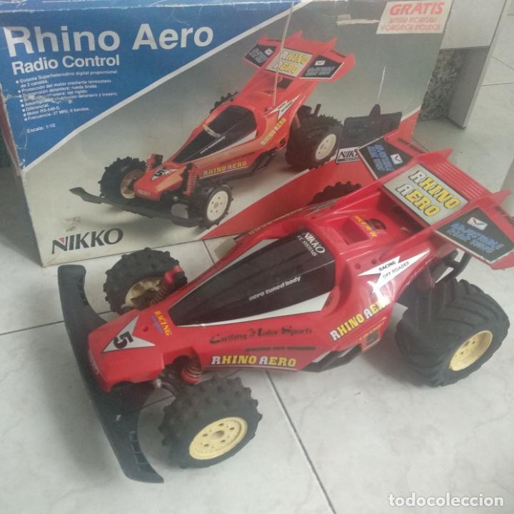 Radio Control: Lote de 4 coches nikko y tonka survivor 2,e-panther,rhino Aero - Foto 24 - 160255742