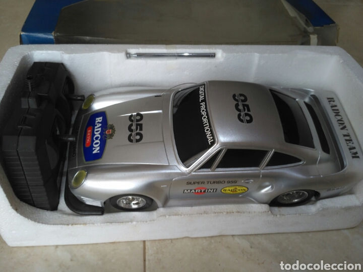 Radio Control: Super turbo 959 Porsche Radcon radiocontrol vintage - Foto 2 - 161547321