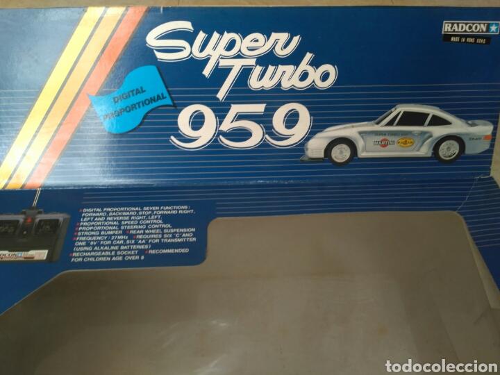 Radio Control: Super turbo 959 Porsche Radcon radiocontrol vintage - Foto 8 - 161547321