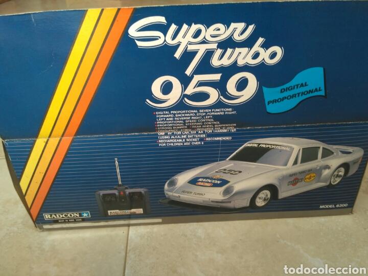Radio Control: Super turbo 959 Porsche Radcon radiocontrol vintage - Foto 11 - 161547321