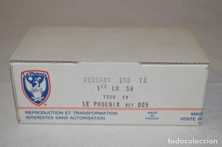FERRARI 250 TESTAROSSA. 1º LE MANS 1958. REF. 005. ESC. 1/43. LE PHOENIX. FRANCE. ROMANJUGUETESYMAS. (Juguetes - Modelismo y Radiocontrol - Radiocontrol - Coches y Motos)