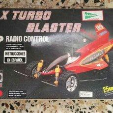 Radio Control: MAX TURBO BLASTER RC. Lote 177874844