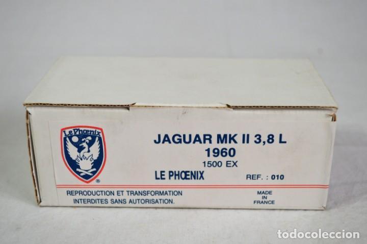 JAGUAR MK II. 3,8 L.1960. REF. 010. ESC. 1/43. LE PHOENIX. FRANCE. ROMANJUGUETESYMAS. (Juguetes - Modelismo y Radiocontrol - Radiocontrol - Coches y Motos)