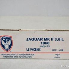 Radio Control: JAGUAR MK II. 3,8 L.1960. REF. 010. ESC. 1/43. LE PHOENIX. FRANCE. ROMANJUGUETESYMAS.. Lote 162561338