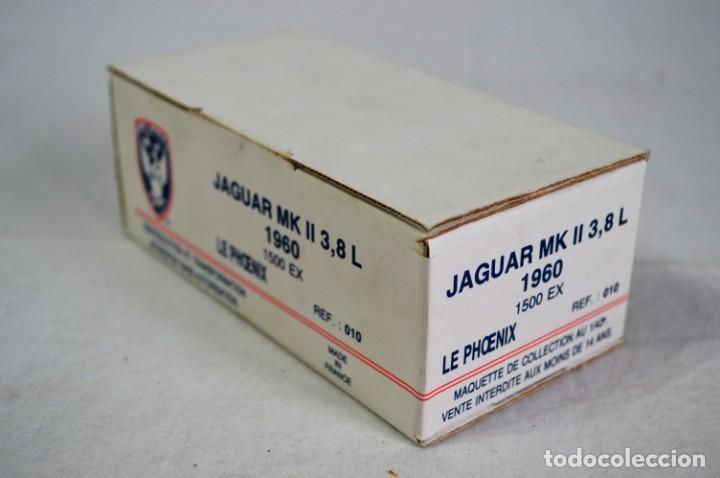 Radio Control: Jaguar MK II. 3,8 L.1960. Ref. 010. Esc. 1/43. Le Phoenix. France. romanjuguetesymas. - Foto 2 - 236124750