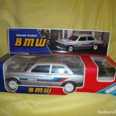 Radio Control: BMW DIRIGIDO CABLE, AÑOS 80, LUCES Y SONIDO, FUNCIONA, NUEVO SIN USAR.. Lote 162616866