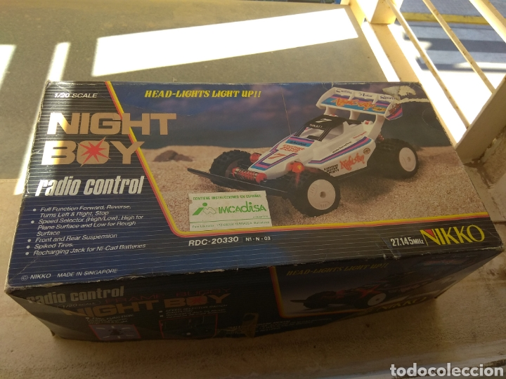 Radio Control: Coche Radiocontrol Nikko Night boy 1984 - Foto 1 - 163128073