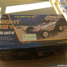 Radio Control: COCHE RADIOCONTROL NIKKO NIGHT BOY 1984. Lote 163128073