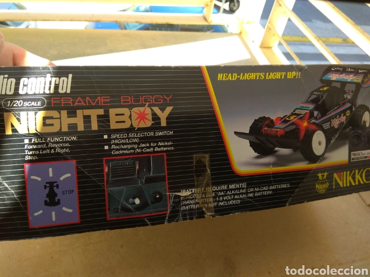 Radio Control: Coche Radiocontrol Nikko Night boy 1984 - Foto 2 - 163128073
