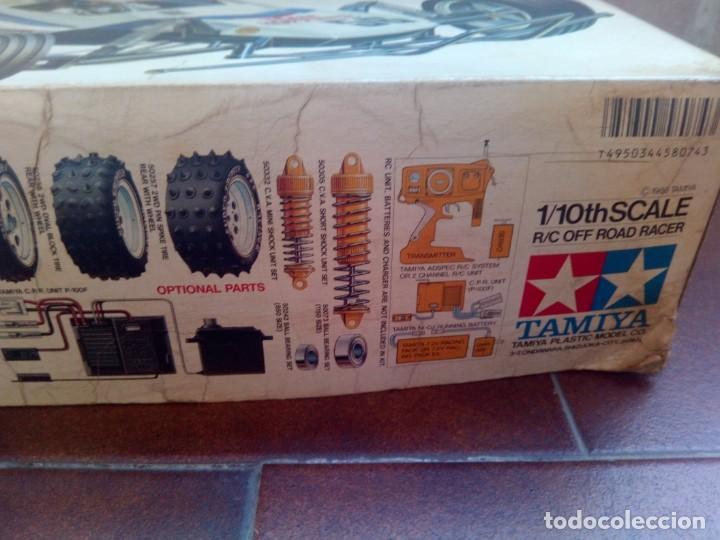 Radio Control: COCHE TELEDIRIGIDO RADIO CONTROL RC TAMIYA GRASSHOPPER II 1988 + EMISORA TECHNIPLUS - Foto 2 - 163532794