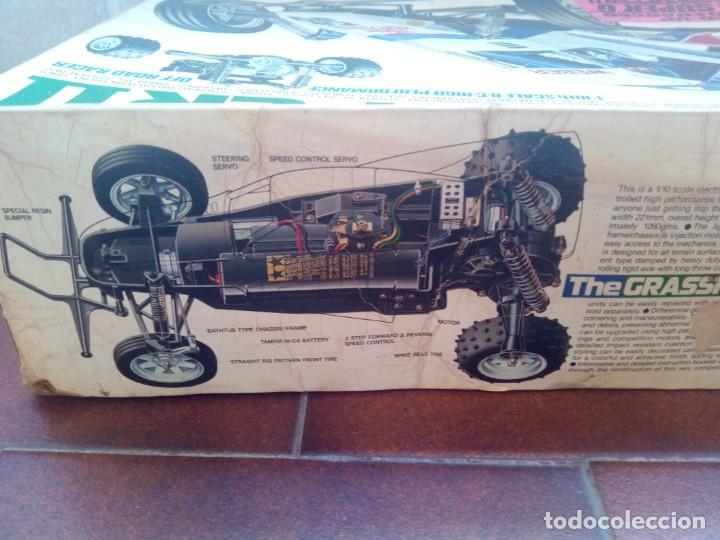 Radio Control: COCHE TELEDIRIGIDO RADIO CONTROL RC TAMIYA GRASSHOPPER II 1988 + EMISORA TECHNIPLUS - Foto 3 - 163532794