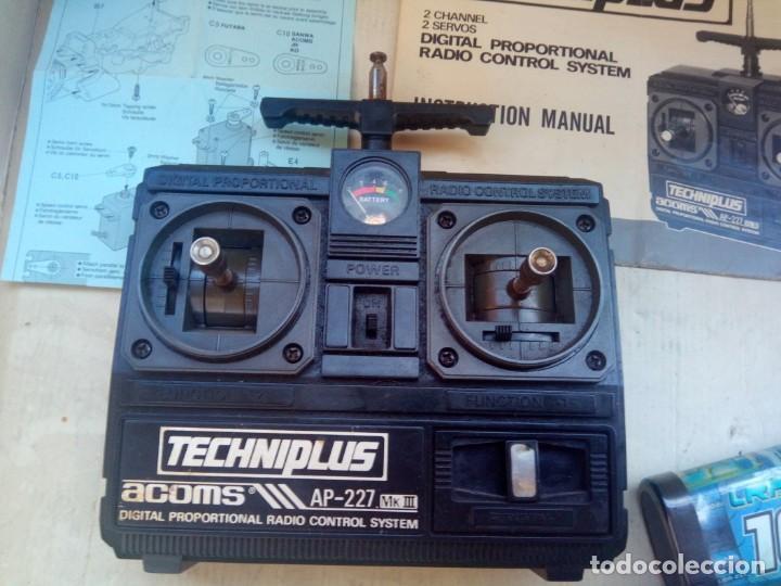 Radio Control: COCHE TELEDIRIGIDO RADIO CONTROL RC TAMIYA GRASSHOPPER II 1988 + EMISORA TECHNIPLUS - Foto 8 - 163532794