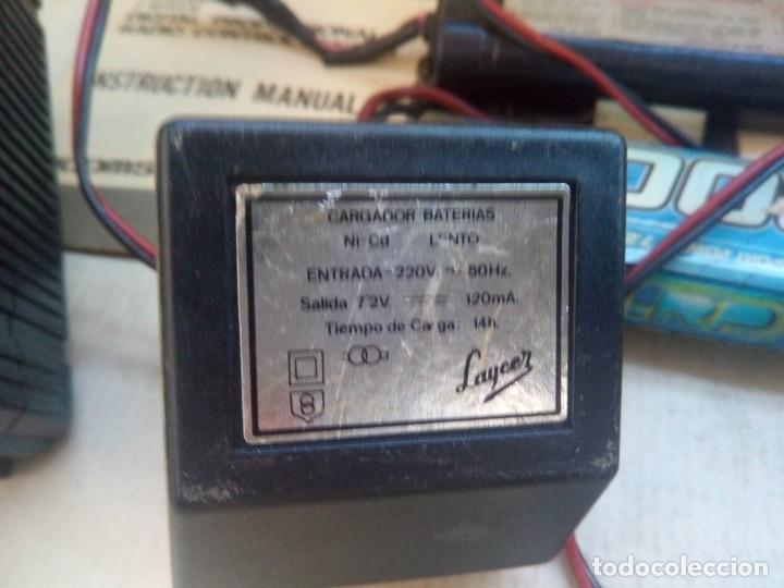 Radio Control: COCHE TELEDIRIGIDO RADIO CONTROL RC TAMIYA GRASSHOPPER II 1988 + EMISORA TECHNIPLUS - Foto 11 - 163532794