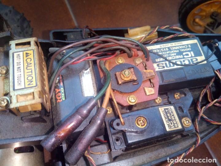 Radio Control: COCHE TELEDIRIGIDO RADIO CONTROL RC TAMIYA GRASSHOPPER II 1988 + EMISORA TECHNIPLUS - Foto 16 - 163532794