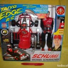 Radiocommande: KART MICHAEL SCHUMACHER R/C, ORIGINAL SCHUMI DE TAIYO, AÑO 2002, NUEVO SIN ABRIR.. Lote 163949102