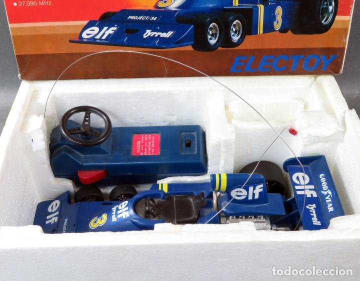 Radio Control: Tyrrell Ford Fórmula 1 Six Wheeler Radio Control Elf Electoy años 80 Funciona - Foto 3 - 165358326