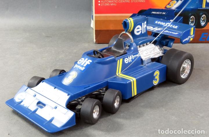 Radio Control: Tyrrell Ford Fórmula 1 Six Wheeler Radio Control Elf Electoy años 80 Funciona - Foto 5 - 165358326