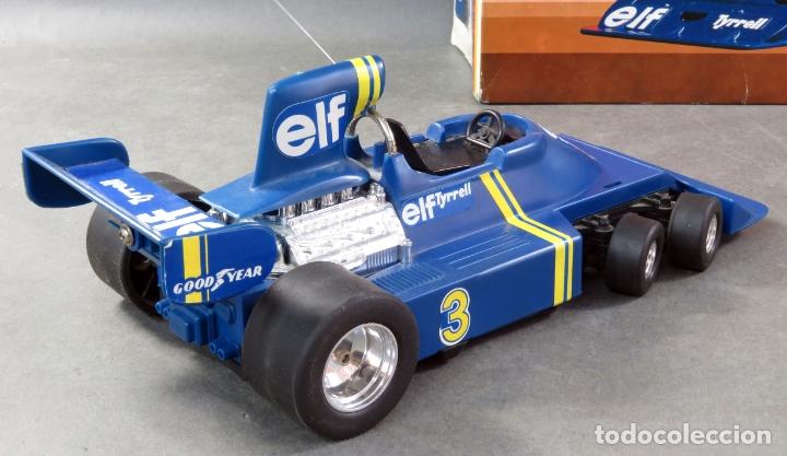 Radio Control: Tyrrell Ford Fórmula 1 Six Wheeler Radio Control Elf Electoy años 80 Funciona - Foto 6 - 165358326