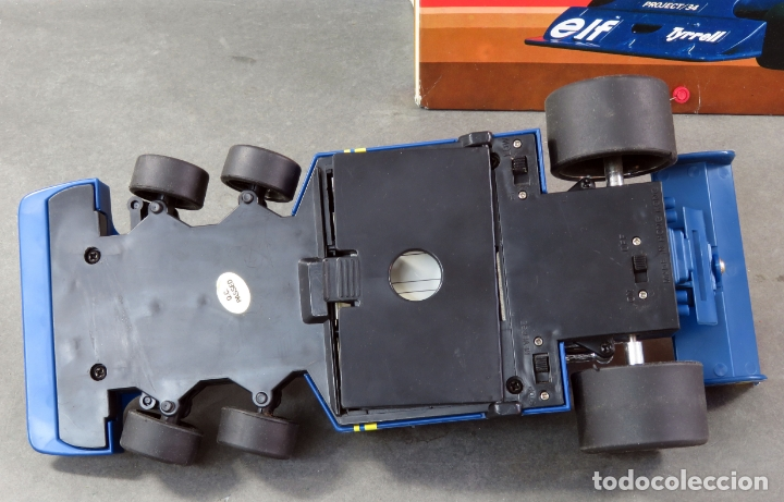 Radio Control: Tyrrell Ford Fórmula 1 Six Wheeler Radio Control Elf Electoy años 80 Funciona - Foto 7 - 165358326