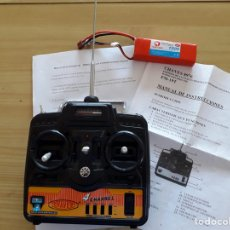 Radio Control: EMISORA RADIO CONTROL 4 CANALES. Lote 165449389