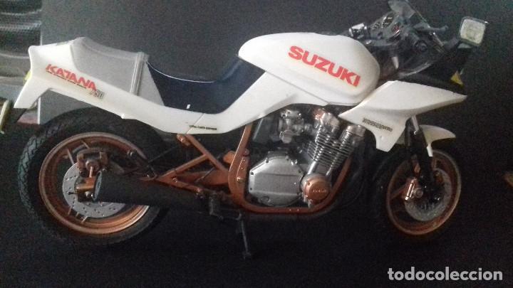 Radio Control: suzuki katana 750 GSX 1/12 montada y pintada. TAMIYA - Foto 4 - 168042352