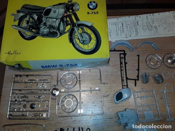 Radio Control: Heller BMW R-75/5 , antigua en caja. - Foto 2 - 168140064