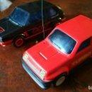 Radio Control: 2 COCHES RADIO CONTROL JOUSTRA - RENAULT 5 TURBO Y VW GOLF GTI. Lote 168294992