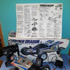 Radio Control: BUGGY RADIO CONTROL THUNDER DRAGON ESCALA 1/14 DE TAMIYA AÑO 1989 VER FOTOS Y DESCRIPCION. Lote 168830396