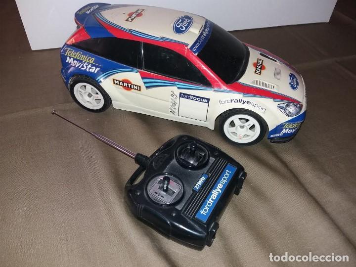 FORD FOCUS RADIOCONTROL WRC 2002, TELEDIRIGIDO. LE FALTA LA ANTENA. FUNCIONA. (Juguetes - Modelismo y Radiocontrol - Radiocontrol - Coches y Motos)