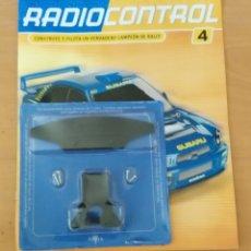 Radio Control: RADIOCONTROL - ALTAYA- FASCÍCULO Nº 4 Y PIEZAS -SOPORTES Y ACCESORIOS DE LA SUSPENSIÓN DELANTERA. Lote 49484093