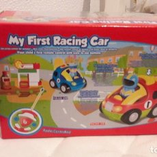 Radio Control: COCHE TELEDIRIGIDO INFANTIL. MY FIRST RACING CAR. CON LUCES Y SONIDO . Lote 170416916
