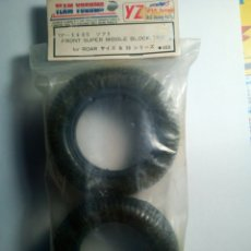 Radio Control: TEAM YOKOMO-FRONT SUPER MIDDLE BLOCK TIRE FOR ROAD-360S. Lote 170952350