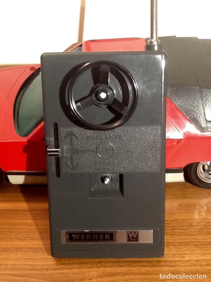 Radio Control: WERNER MACH 1. Años 70. FUNCIONANDO PERFECTAMENTE. Con mando. Pilas nuevas incluidas. - Foto 17 - 170968344