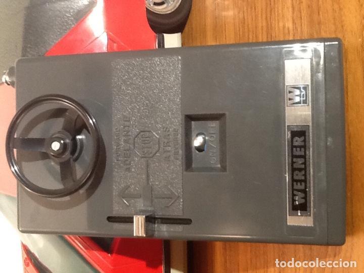 Radio Control: WERNER MACH 1. Años 70. FUNCIONANDO PERFECTAMENTE. Con mando. Pilas nuevas incluidas. - Foto 18 - 170968344