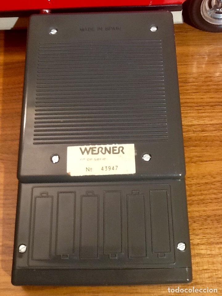 Radio Control: WERNER MACH 1. Años 70. FUNCIONANDO PERFECTAMENTE. Con mando. Pilas nuevas incluidas. - Foto 19 - 170968344