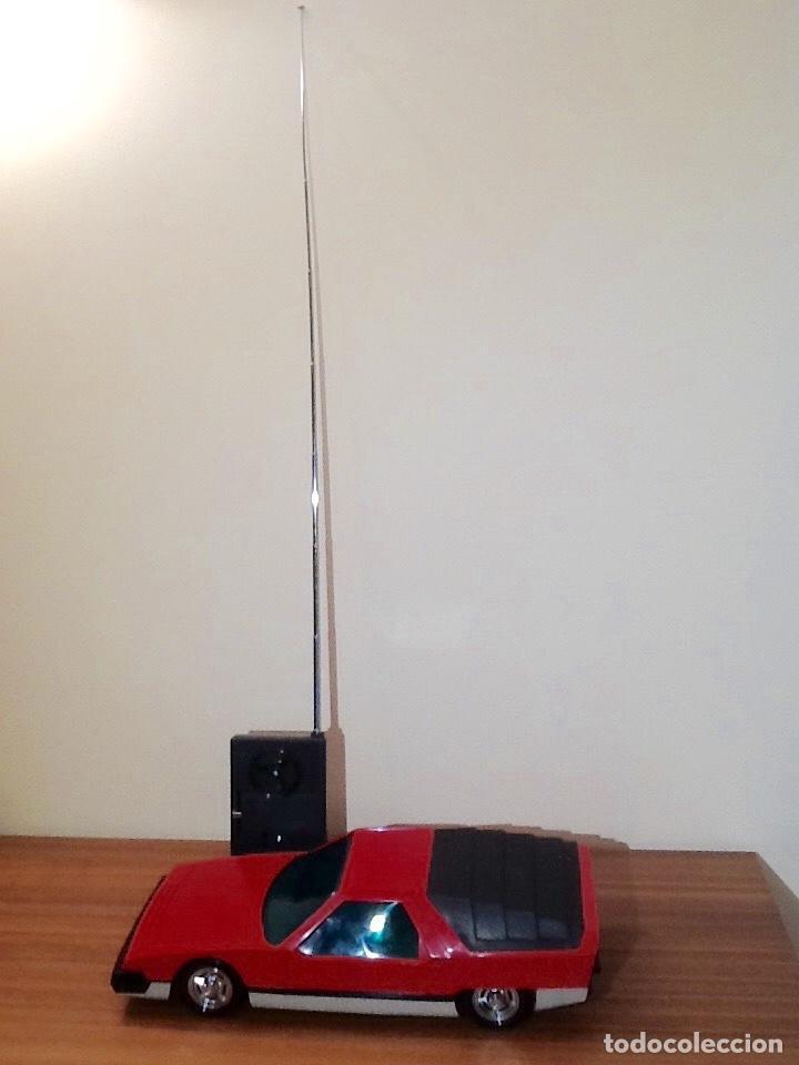Radio Control: WERNER MACH 1. Años 70. FUNCIONANDO PERFECTAMENTE. Con mando. Pilas nuevas incluidas. - Foto 41 - 170968344