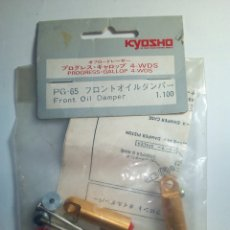 Radio Control: KYOSHO-FRONT OIL DAMPER -1.100-4-WDS-PROGRESS GALLOP . Lote 171005260